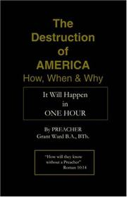Cover of: The Destruction of America