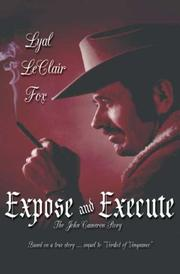 Cover of: Expose and Execute