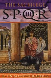 Cover of: SPQR III: the sacrilege