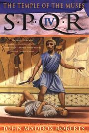 Cover of: SPQR IV: the temple of the muses