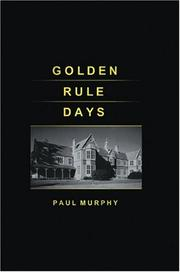 Cover of: Golden Rule Days