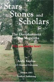 Cover of: Stars, Stones and Scholars