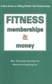 Cover of: Fitness, Memberships and Money