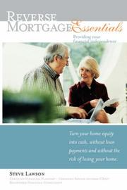 Cover of: Reverse Mortgage Essentials