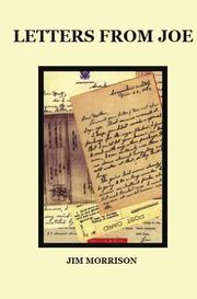 Cover of: Letters From Joe