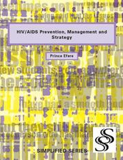 Cover of: HIV/Aids Prevention, Management And Strategy