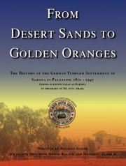 Cover of: From desert sands to golden oranges | Helmut Glenk