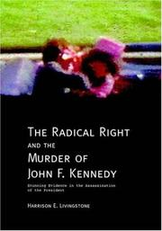 Cover of: The Radical Right and the Murder of John F. Kennedy