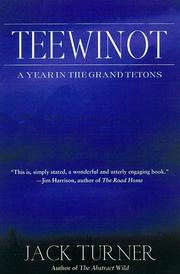 Cover of: Teewinot