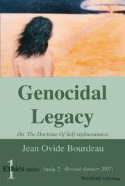 Cover of: Genocidal Legacy