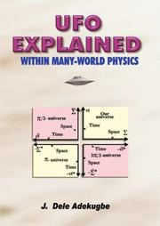Cover of: UFO Explained | J. Dele Adekugbe