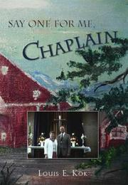 Cover of: Say One For Me, Chaplain