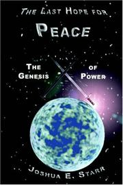 Cover of: The Last Hope for Peace