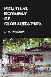 Cover of: Political Economy of Globalization