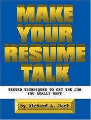 Cover of: Make Your Resume Talk