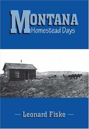 Cover of: Montana Homestead Days