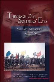 Cover of: Through Our Soldiers Eyes