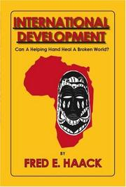 Cover of: International Development