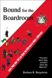 Cover of: Bound for the Boardroom