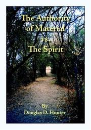 Cover of: The Authority of Material vs. the Spirit