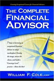 Cover of: The Complete Financial Advisor