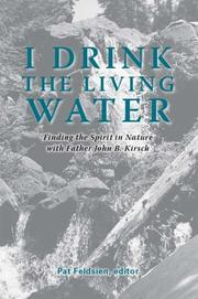 Cover of: I Drink the Living Water