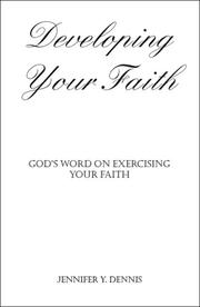 Cover of: Developing Your Faith