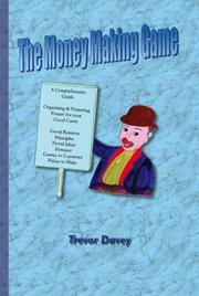 Cover of: The Money Making Game