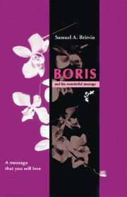 Cover of: Boris and His Wonderful Message