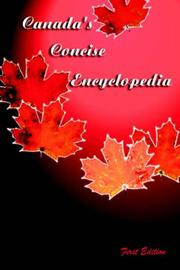 Cover of: Canada's Concise Encyclopedia