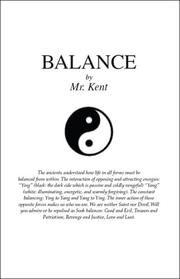 Cover of: Balance