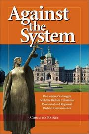 Cover of: Against the System