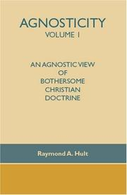 Cover of: Agnosticity Volume 1