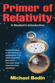 Cover of: Primer of Relativity
