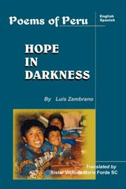 Cover of: Hope in Darkness