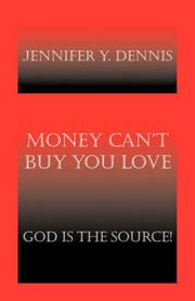 Cover of: Money Can't Buy You Love