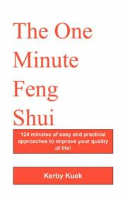 Cover of: The One Minute Feng Shui