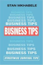 Cover of: Business Tips