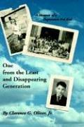 Cover of: One from the Least and Disappearing Generation