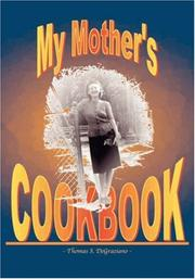 Cover of: My Mother's Cookbook