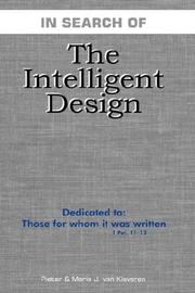 Cover of: The Intelligent Design