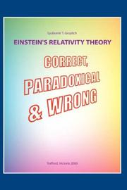 Cover of: Einstein's Relativity Theory