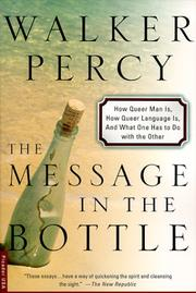 Cover of: The message in the bottle