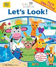 Cover of: Baby Einstein Let's Look!