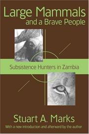 Cover of: Large Mammals and a Brave People