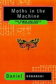 Cover of: The moths in the machine