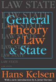 Cover of: General theory of law and state | Hans Kelsen
