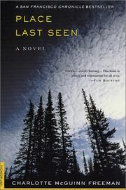 Cover of: Place last seen