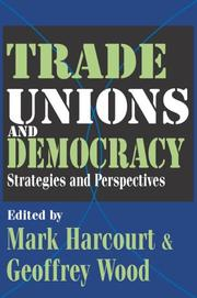 Cover of: Trade Unions and Democracy |