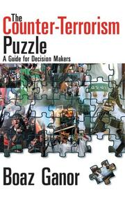 Cover of: The Counter-Terrorism Puzzle